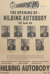 About Hilbing Autobody