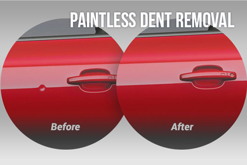 Hilbing Autobody Paintless Dent Removal
