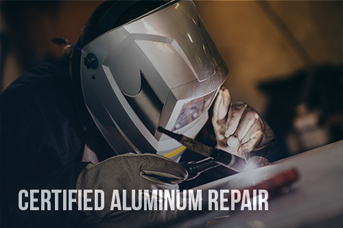 Certified Aluminum Repair - Aluminum Collision Repair Quincy, IL