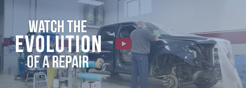 Hilbing Autobody Collision Repair Process