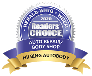 Hilbing Autobody & Collision Repair - 2020 Reader's Choice Award